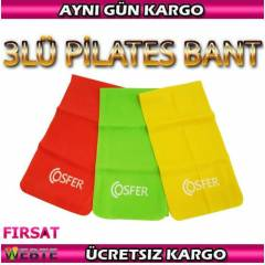 Cosfer 3L� Pilates Bant Plates Band� + Plates Cd