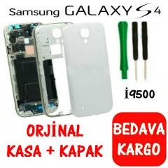 SAMSUNG GALAXY S4 �9500 KAPAK KASA FULL SET
