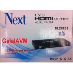 NEXT YE 208 1/8 HDMI SPLITTER YENİ