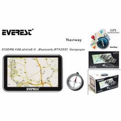 Everest Naviway 5,128MB,4GB,WinCe6.0 ,Bluetooth,