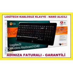 LOG�TECH K340 KABLOSUZ KLAVYE WIRELESS ORJ�NAL