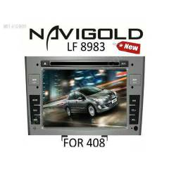 Peugeot 308 ve 408 Uyumlu TV DVD BT GPRS
