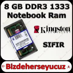 Kingston 8 GB DDR3 1333 Notebook Ram