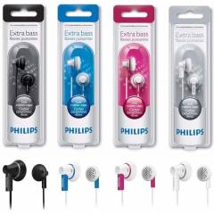 Philips SHE3000 Extra Bass Renkli Kulakl�k