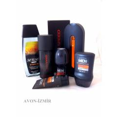 AVON FULL SPEED PARF�M+5 L� ERKEK BAKIM SET�