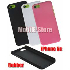 Apple iPhone 5c Slim Sert Rubber K�l�f+3xFilm