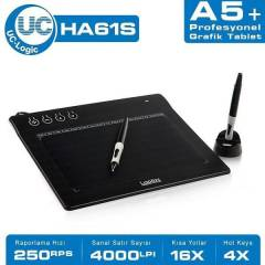 UC-LOGIC UCHA61S LA PAZZ HA61S A5 GRAFİK TABLET
