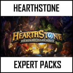 HearthStone Expert Packs Heroes of Warcraft Pack