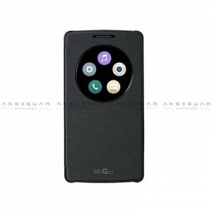 LG G3 Beat CCF-490G Quick Cricle Flip Cover Syah