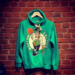 Nw NBA ED�T�ON! BOSTON CELT�CS SWEATSH�RT HOOD�E