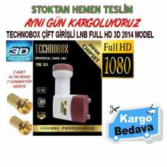 TECHNOBOX ��FT G�R��L� LNB FULL HD 3D 2014 MODEL