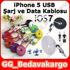 iPad 4 iPad Mini iPhone 5 USB �arj Data Kablo
