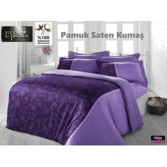 TA� UYKU SET� ��FT K��� GLOR�A PAMUK SATEN KUMA�