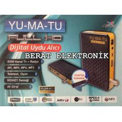 Yumatu Full HD Mini Uydu Al�c�s� USB PVR B�SSL�