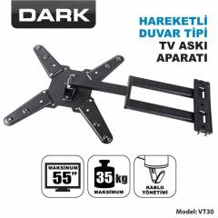 "Dark 23""-55"" Hareketli LCD/LED TV Ask� Aparat�"