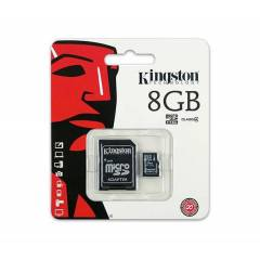 Kingston 8GB SDC Class4 Micro SD Haf�za Kart�