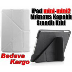 Apple iPad Mini-Mini 2 M�knat�s Kapak K�l�f+Film