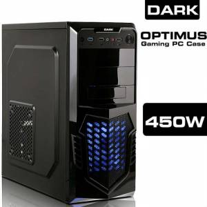 Dark OPTIMUS 450W 12Cm LED FANLI ATX OYUNCU KASA