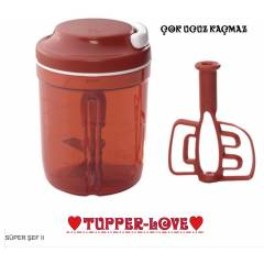 TUPPERWARE S�PER �EF 2 �PL� DO�RAYICI �OK UCUZZ