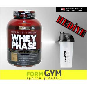 4D Whey Phase %100 Whey Protein 2.27 kg + SHAKER