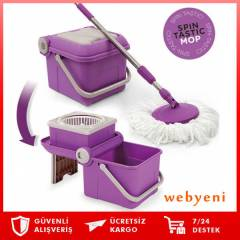 Magic Spin Mop Katlanabilir Koval� Temizlik Set�