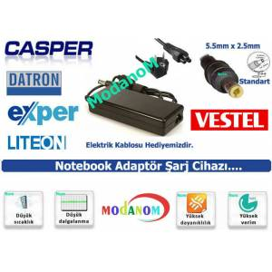 CASPER NİRVANA NB 15.6 LAPTOP 19V 4.74A ADAPTÖR