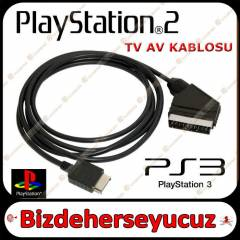 Playstation 2 PS2 PS 2 RGB SCART TV KABLOSU