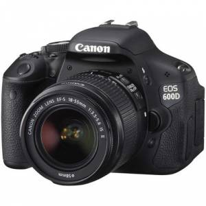 CANON EOS 600D 18Mp 18-55 IS Lens Kit Full HD