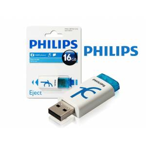 PHILIPS 16GB USB 2.0 EJECT READY BOOST BELLEK