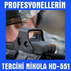 HD551 Nikula Red Dot Sight Hedef Noktalayıcı 013
