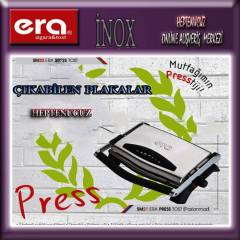 ERA PRESS PASLANMAZ SM21 IZGARA - TOST MAK�NES�