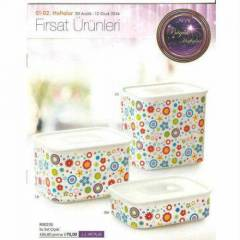TUPPERWARE SU SET ���EKL� YEN� �RUN KA�MAZZZZ