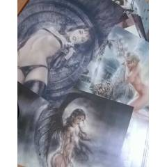 �zel Luis Royo Kart Seti 25 Collection Cards