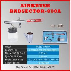 DUAL ACTION AIRBRUSH BADSECTOR 800A GE��C� D�VME