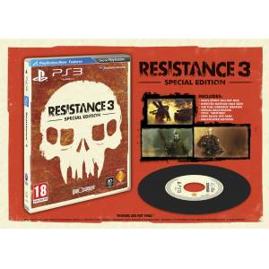 RESISTANCE 3 SPECIAL EDITION PS3 HD PAL SIFIR