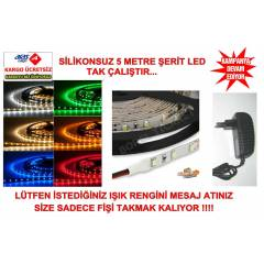 S�L�KONSUZ �ER�T LED 5 METRE KOMPLE SET- 3528