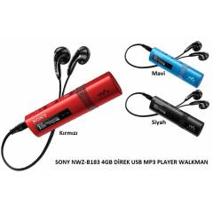 Sony NWZ-B183 4GB Direk USB Walkman MP3 Player