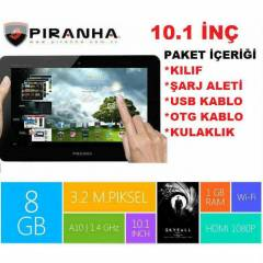 Piranha 10.1 1GB RAM 8GB HAFIZA Business Tab III