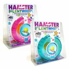 Hamster �ark� / Oyunca�� Silent Wheel Small 11cm