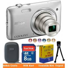 Nikon s3500 20.1MP HD 7X ZOOM Foto�raf Makinas�