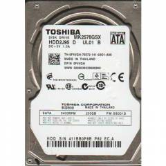 "TOSHIBA 250 GB SATA 2.5"" NOTEBOOK HDD"