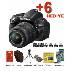 Nikon D5100+18-55 mm Lens Hediye Kit