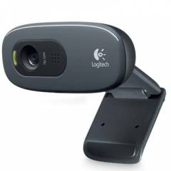 Logitech C270 Hd 720P 1.3 Mp Webcam (960-000582)