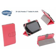 Addison IP-262 Pembe 7 Tablet Pc K�l�f� Standl�