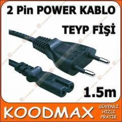 Teyp Fi�i Notebook Adapt�r Power Kablosu