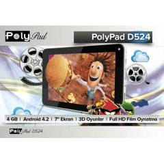 Poly Pad D524 LPD Gen II ��lemci 4GB Tablet PC
