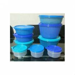 TUPPERWARE �eker kaplar 9 'lu set