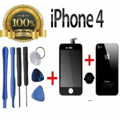 ORJ�NAL iPHONE 4 LCD EKRAN +ArkaKapak HomeTu�u