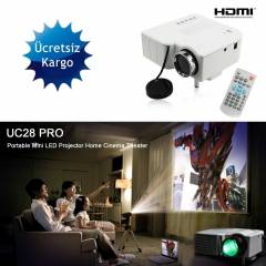 MiNi_LED PROJEKSiYON_CiHAZI VGA_USB_ AV_TV_HDMI