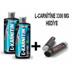 HARDLINE L-Karnitin 1000 Mg 1000 ML 2 ADET